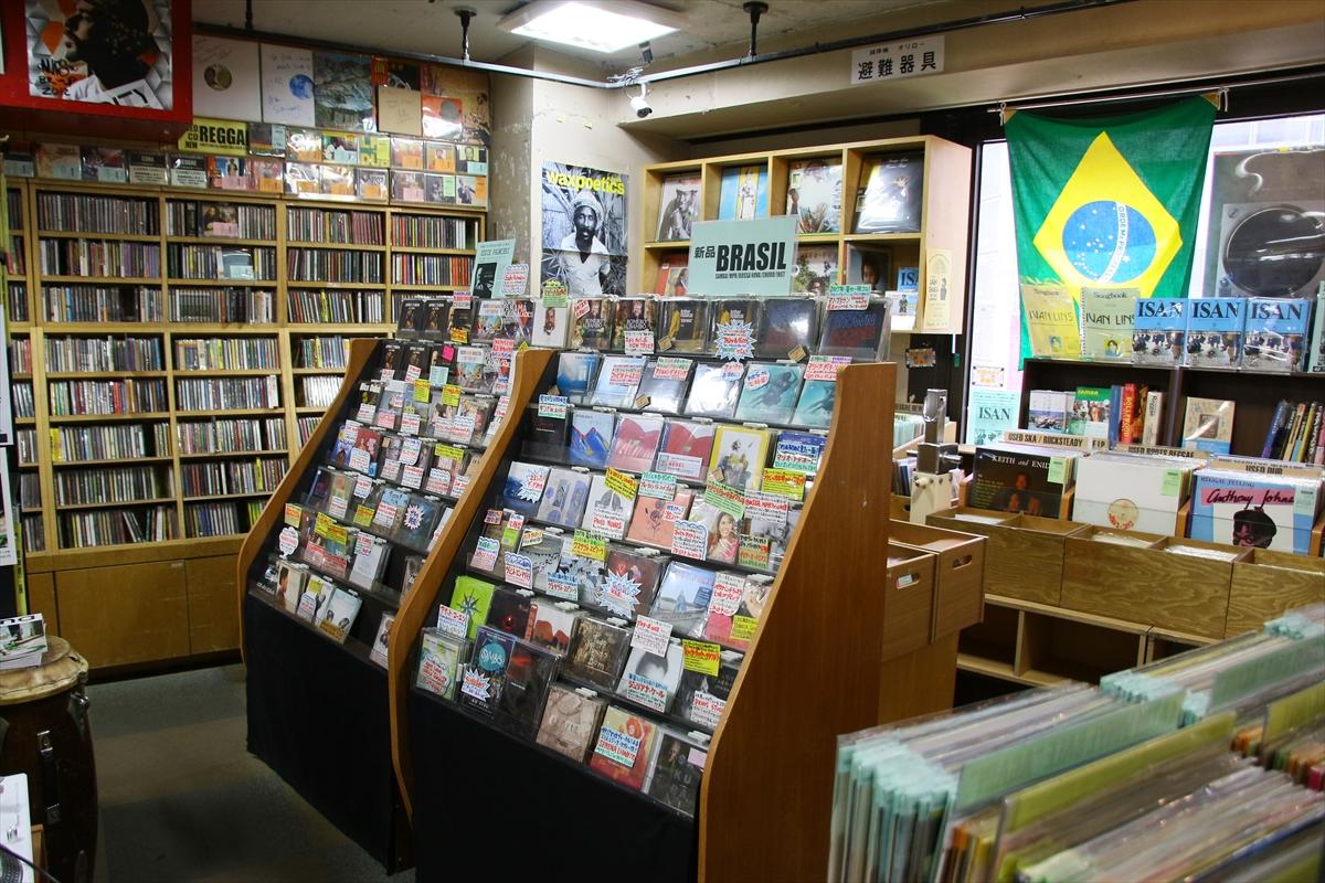ディスクユニオン新宿 ラテン・ブラジル館(4F)