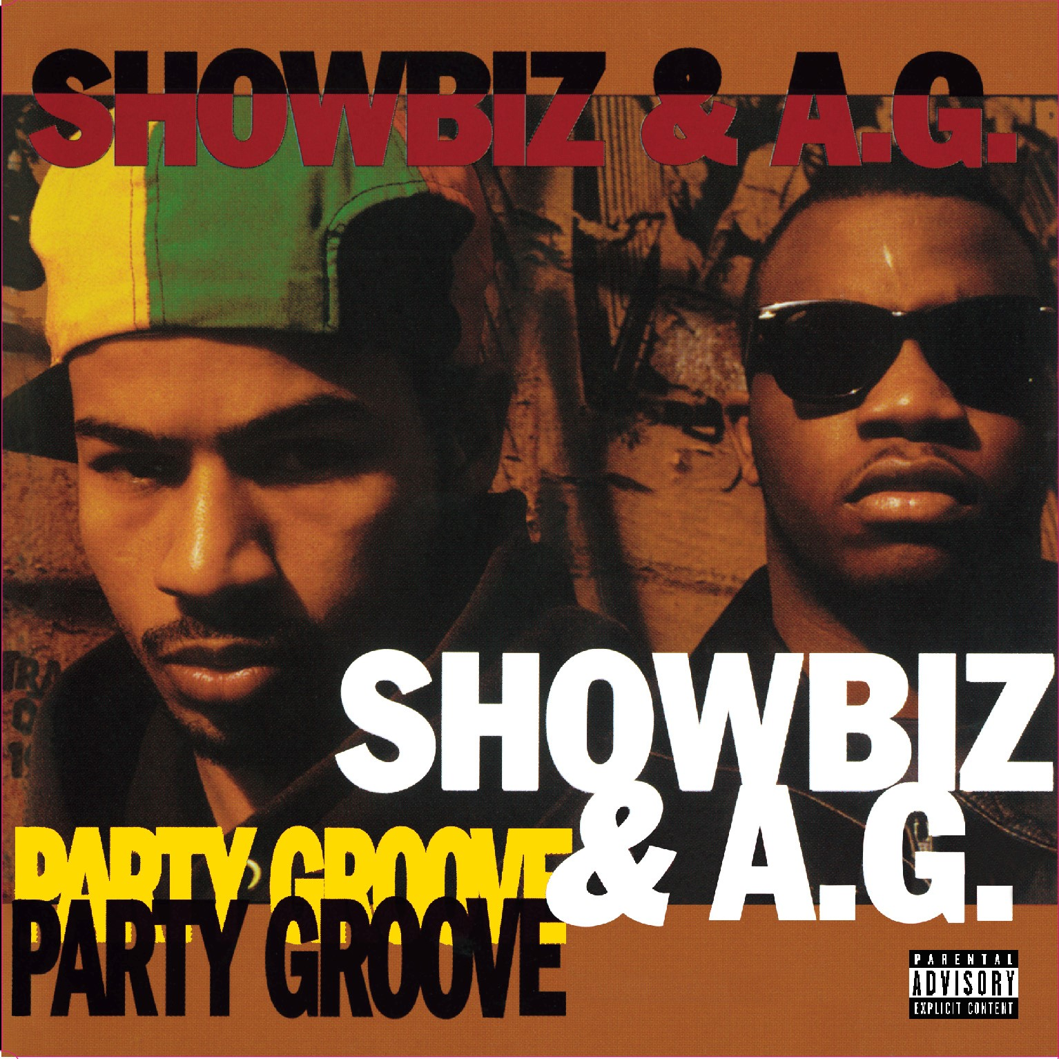 034_Showbiz & A.G.	Party Groove(instrumental) / Party Groove(bass mix)
