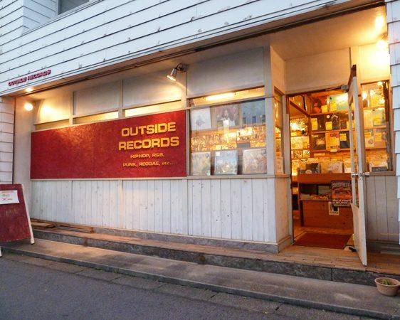 OUTSIDE RECORDS(アウトサイドレコード)