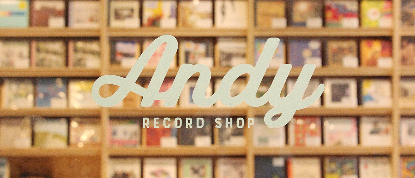 RECORD SHOP ANDY