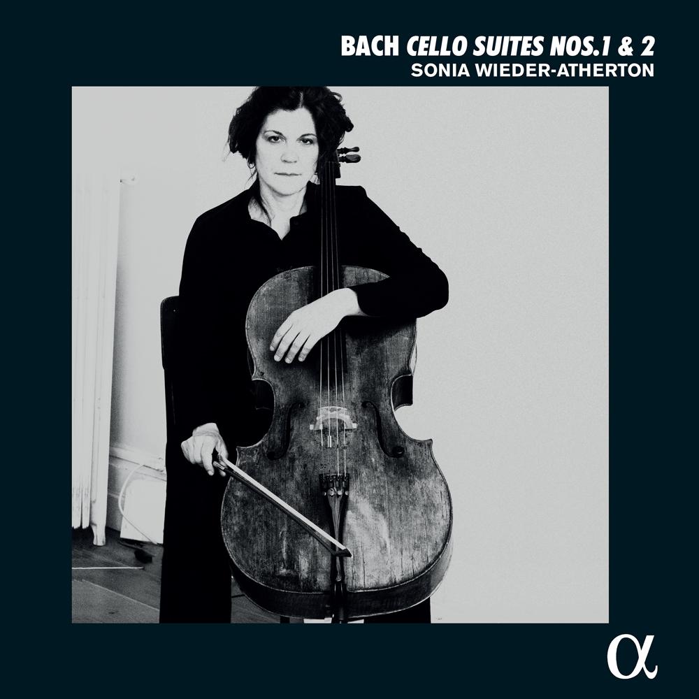 08-081 ソニア・ヴィーダー=アサートン J.S.バッハ:無伴奏チェロ組曲 第1番,第2番