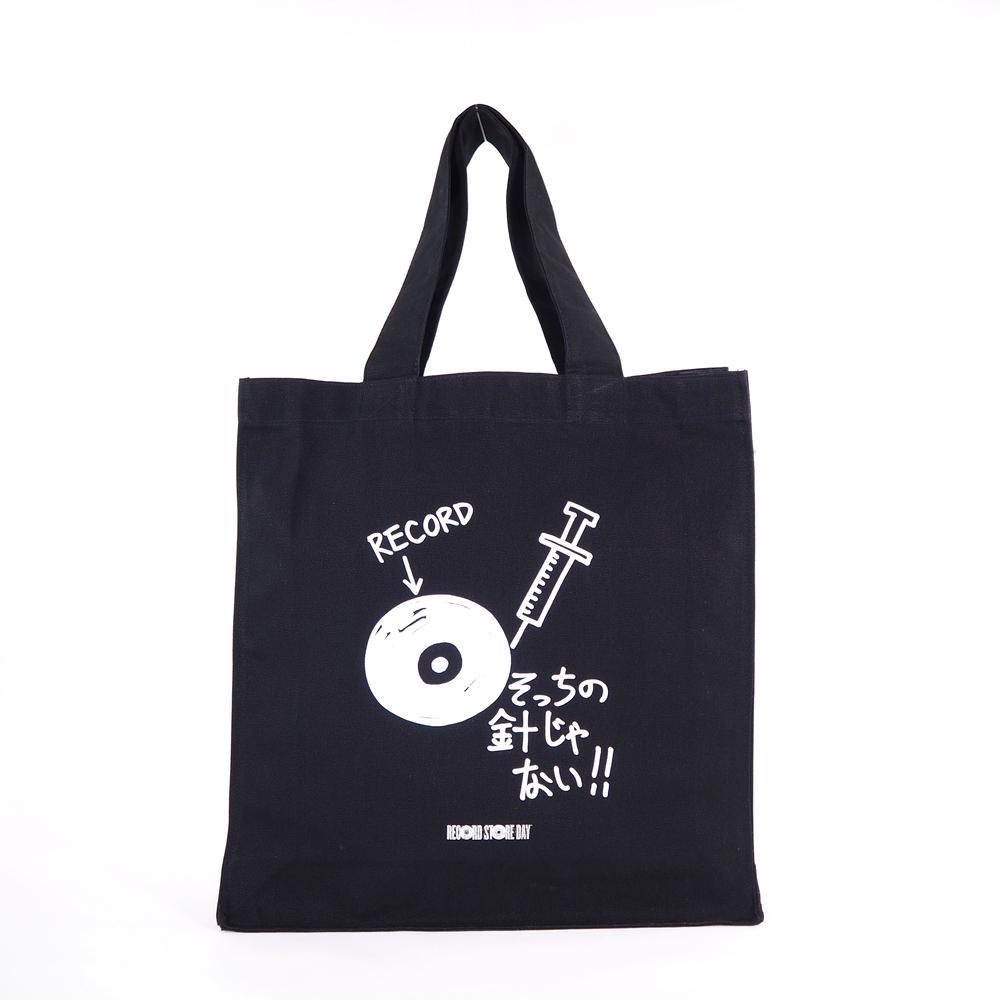08-070 加賀美健 ken kagami X RECORD STORE DAY 2020 トートバッグ L ブラック