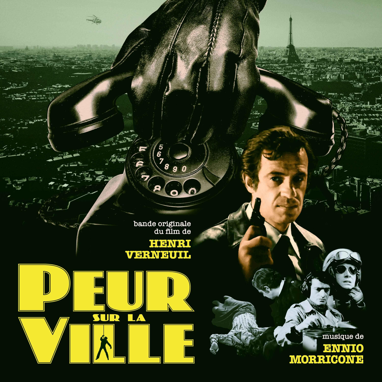 08-008-1 Ennio Morricone Peur Sur La Ville (OST)
