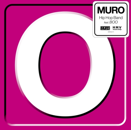 08-024 Muro feat BOO Hip Hop Band / Hip Hop Band (Instrumental)