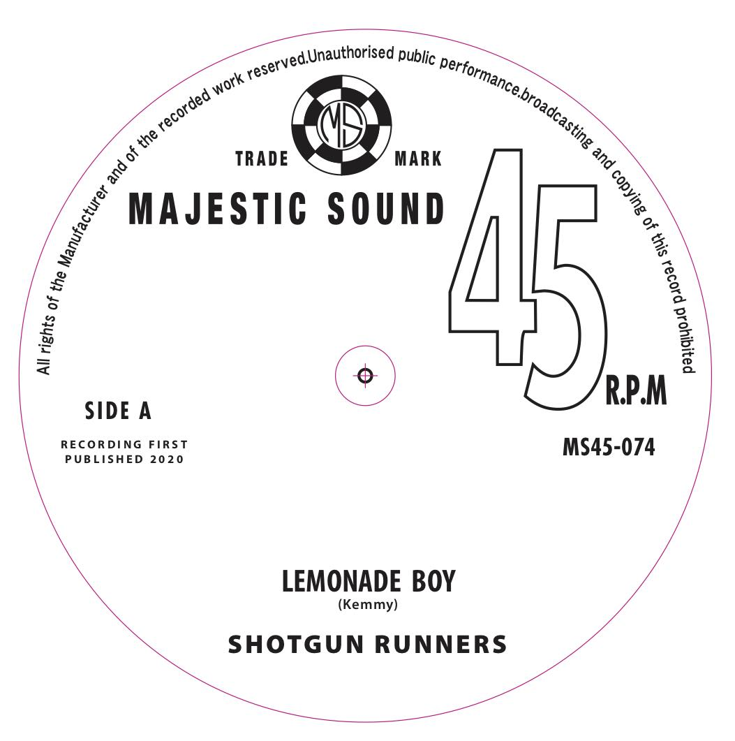 09-040 SHOTGUN RUNNERS LEMONADE BOY