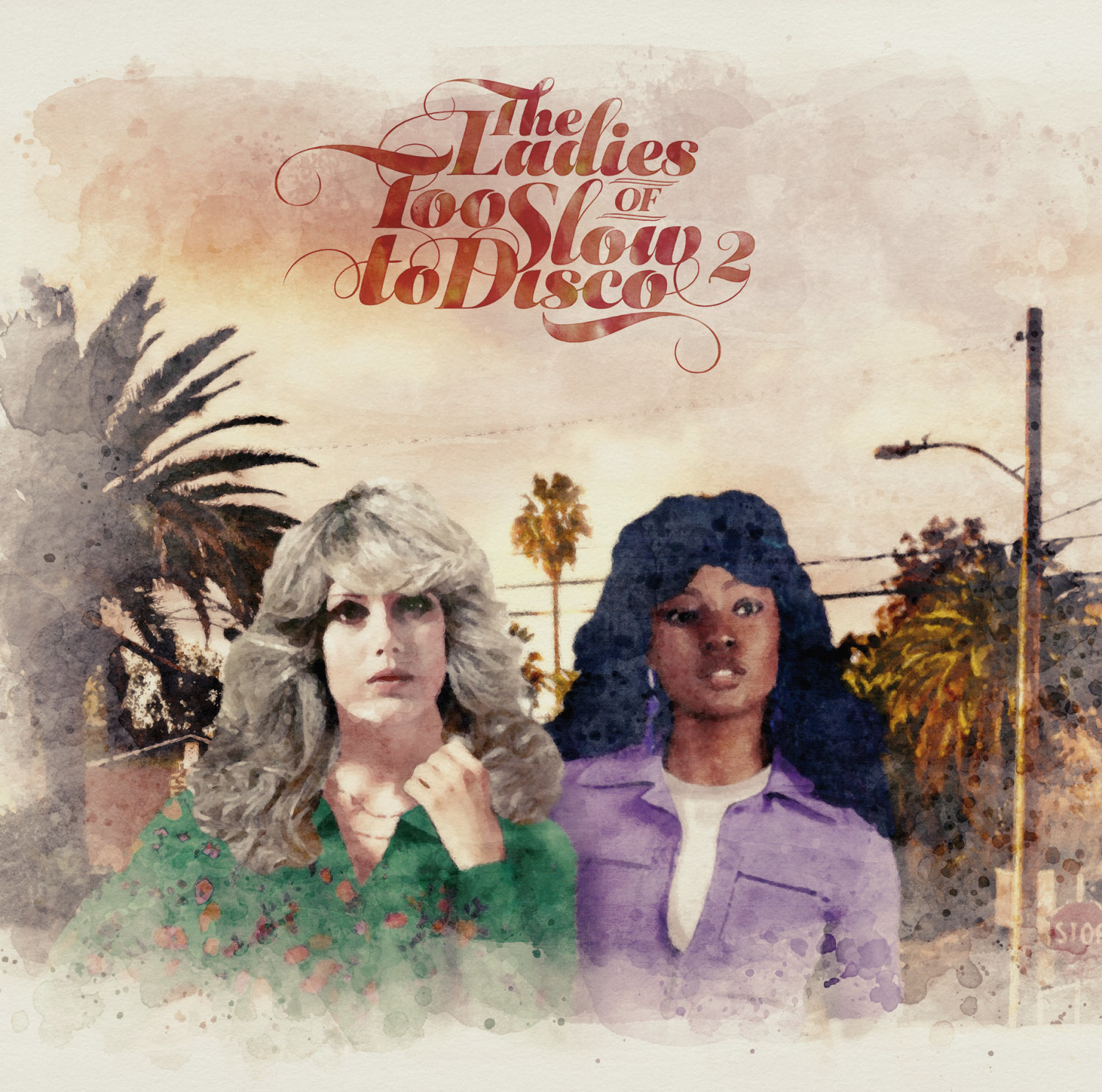 08-050 Various Artists The Ladies of Too Slow To Disco Vol.2
