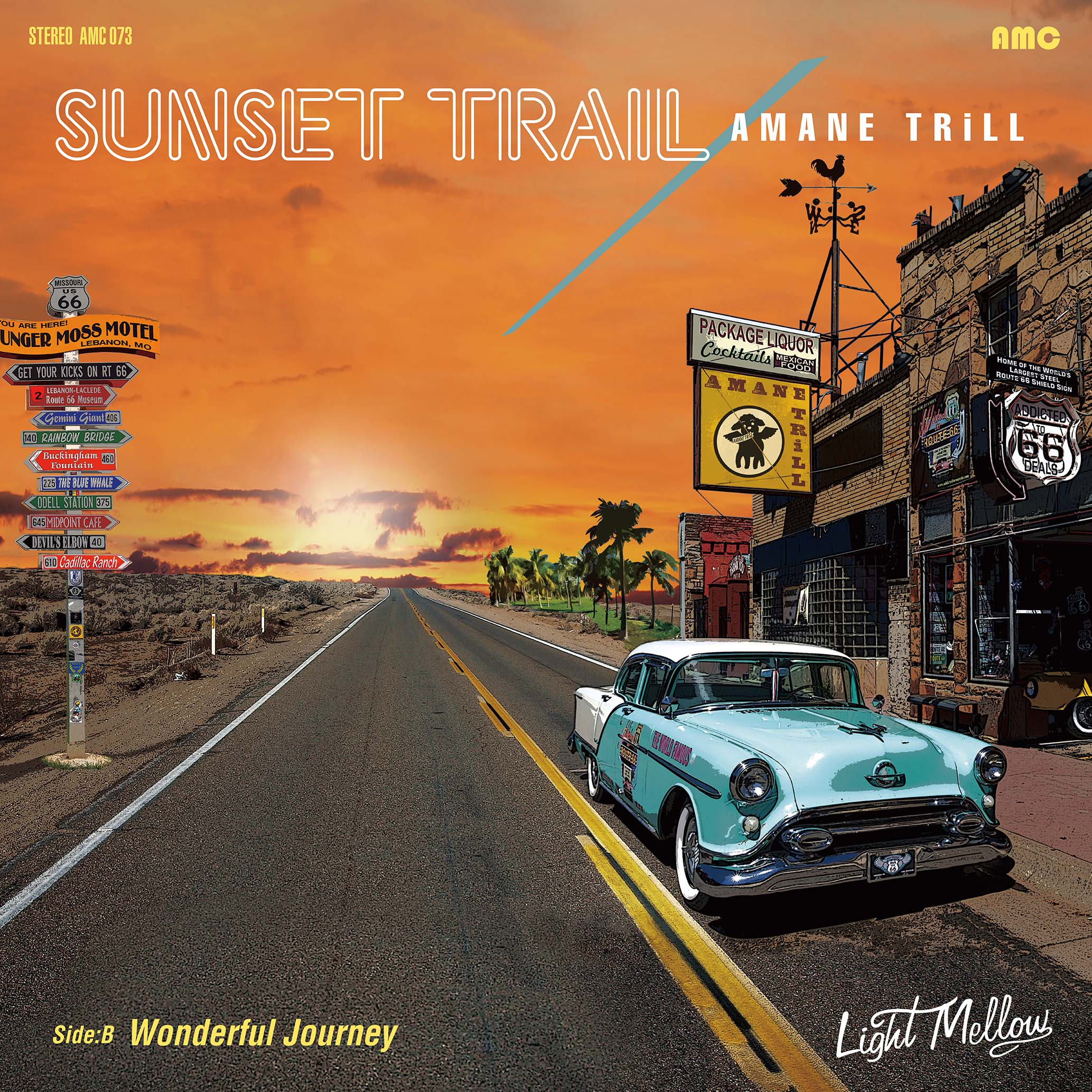 060 アマネトリル SUNSET TRAIL / Wonderful Journey