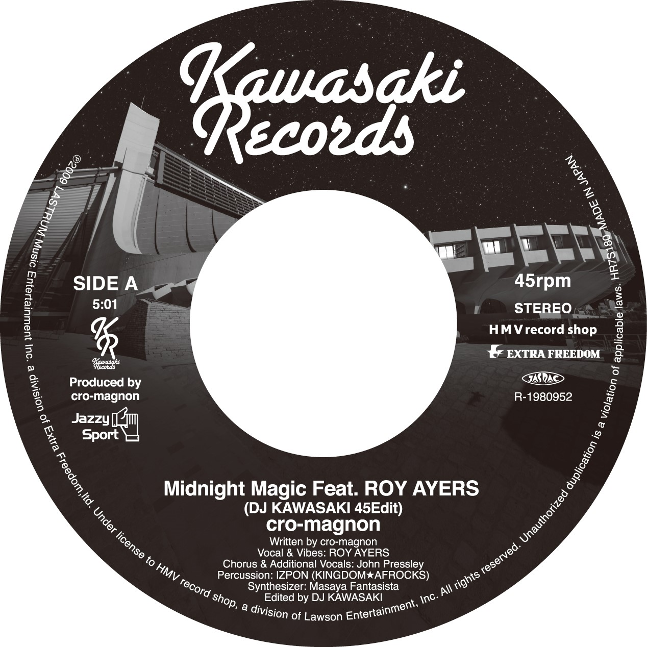 08-006 cro-magnon Midnight Magic Feat. ROY AYERS