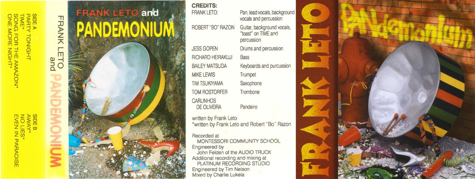 08-008-2 Frank Leto and PANdemonium – Frank Leto and PANdemonium