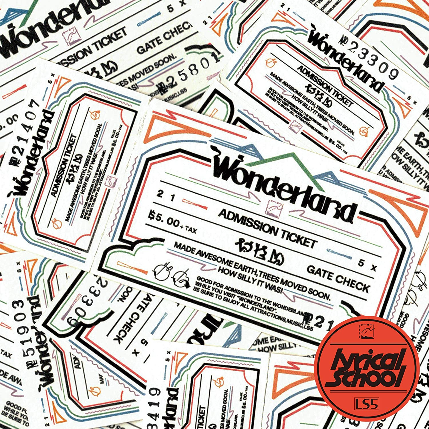 07-013 lyrical school – Wonderland