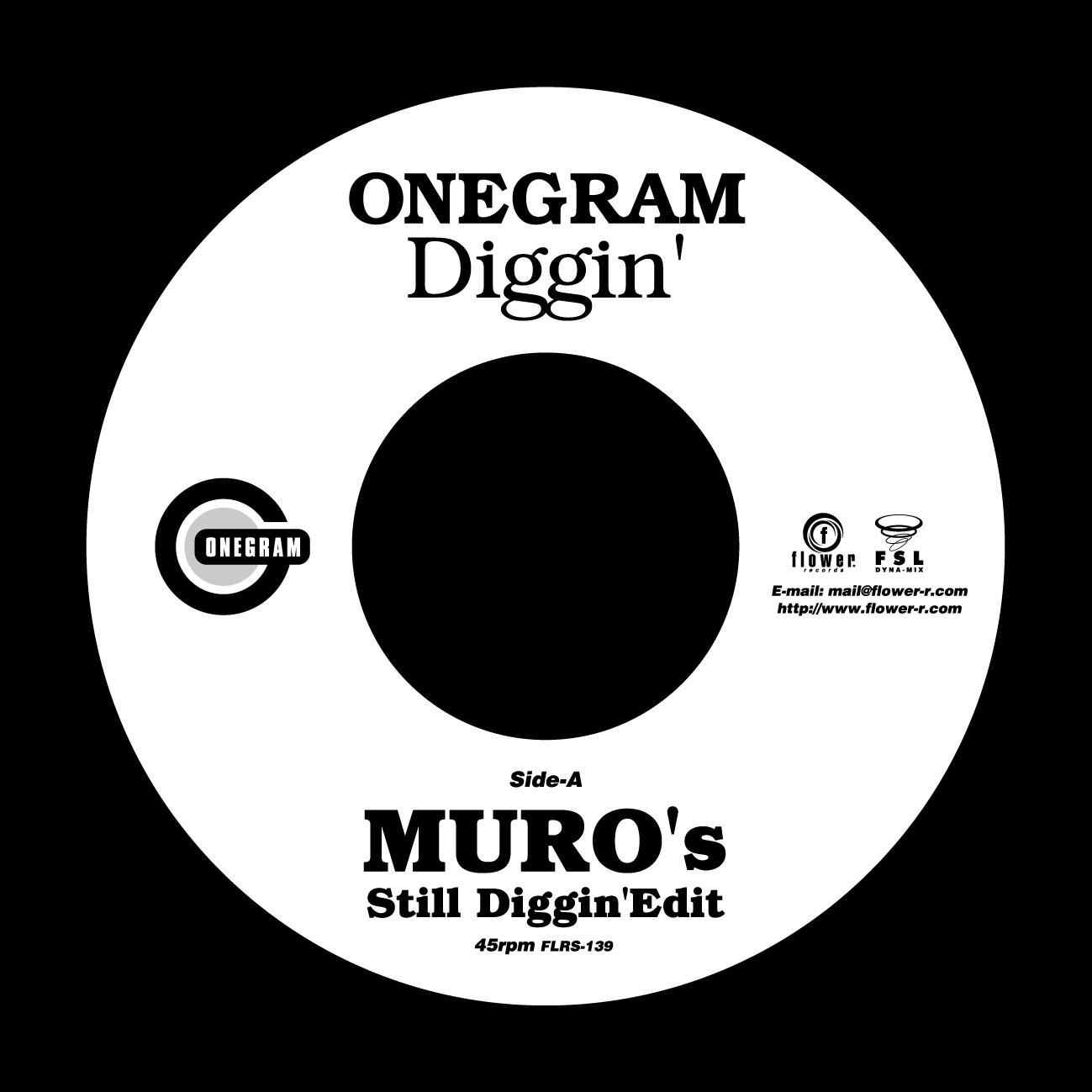 06-021 ONEGRAM – Diggin' (MURO's Still Diggin' Edit)