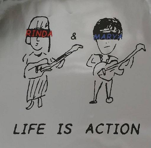 07-052 リンダ&マーヤ – LIFE IS ACTION